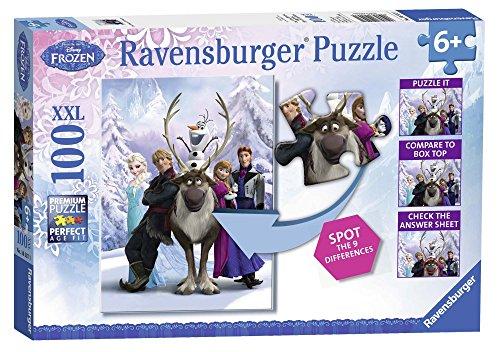 Disney Frozen - Puzzles 100 Piezas XXL (Ravensburger 10557 1)
