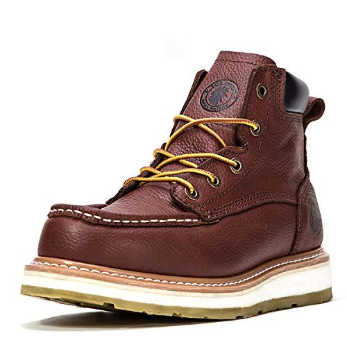 ROCKROOSTER Work Boots for Men, Soft Toe Waterproof...