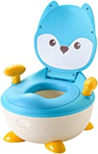 JYW-coverS Potties & Seats Potty Training Toilet Safe Anti Slip Removable Portable Potty, for 1-6 Year Children,Blue
