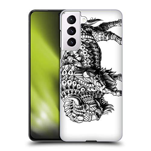 Head Case Designs Licenza Ufficiale Bioworkz Bisonte Fauna Selvatica Cover Dura per Parte Posteriore Compatibile con Samsung Galaxy S21 5G