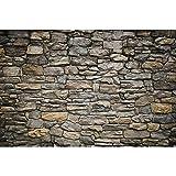 GREAT ART® XXL Poster – Grey Stonewall – Wandbild