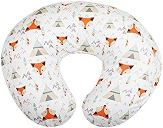New Org Store Premium Bohemian Fox Design Nursing Pillow Cover | Infant Pillow Slipcover for Breastfeeding Moms