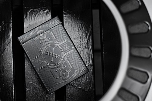 Gamblers Warehouse Double Black Waterproof Playing Cards New Most Creative & Unique Cards, Standard Poker Card Size & Indices, Coolest Deck of Cards Ever Made with Black UV Inks on Black