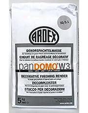 ARDEX ARDEX PANDOMO® W3 decoratieve plamuurmassa / grijs, 5 kg - voor het ontwerpen van wand- en plafondoppervlakken binnenshuis.