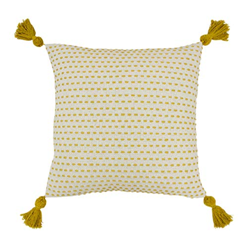 furn. Ezra Cushion Cover, Ochre, 50 x 50cm