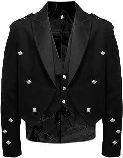 Tartanista Mens Prince Charlie Kilt Jacket & Waistcoat