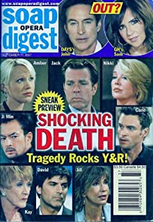 Eric Steinberg, Melody Thomas Scott, Jeanne Cooper, Young and the Restless, Kelly Monaco, Drake Hogestyn, College Photos of the Daytime Stars - September 11, 2007 Soap Opera Digest Magazine