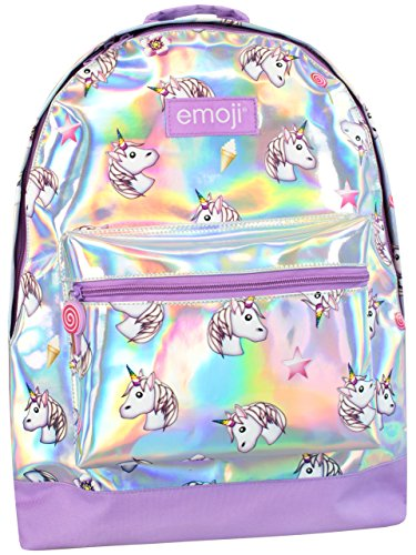 Emoji Mädchen Emoji Unicorn Rucksack