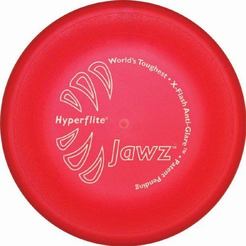 Hyperflite K10 Jawz Frisbee Resistente Morso per Cani Per Discdogging - Rosso