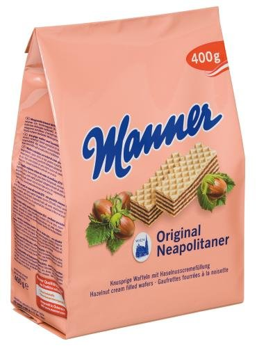 Manner Neapolitaner Schnitten, 2-er Pack (2 x 400 g)