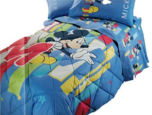 Caleffi Tagesdecke Einzelbett Disney MIKEY M...