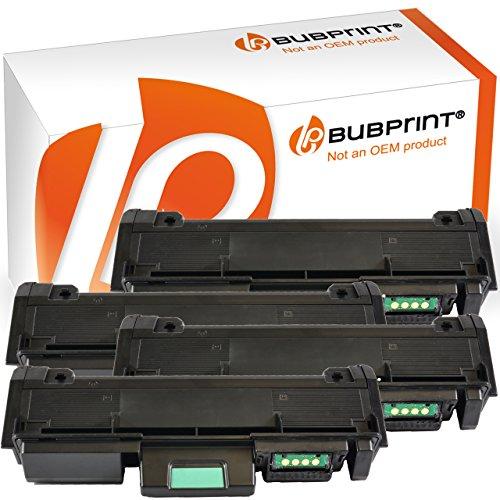 Bubprint 4 Toner kompatibel für Samsung MLT-D116L MLT-D116S MLT D116L D116S MLTD116S für Xpress M2625D M2675FN M2825ND M2876 M2835DW M2875FD Schwarz