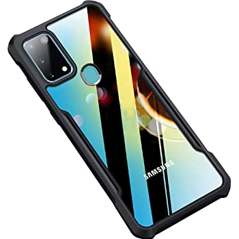 Amozo Shockproof Transparent Bumper 360 Degree Camera Protection Case Cover for Samsung Galaxy M31 Prime / F41 / M31 (Shock Proof Series)