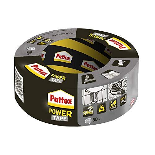 Pattex Power Tape, extra starkes Gewebeband für Reparaturen und schwere Lasten, Duct Tape für fast alle Oberflächen, wasserdichtes Klebeband, 1-er Pack