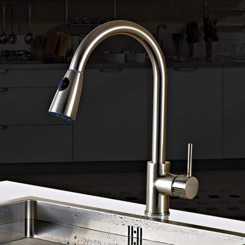 Kai&Guo Herausziehen spülbecken Wasserhahn mit bleifreiem massivem Messing küchenmischbatterie von heier Wasserhahn an,