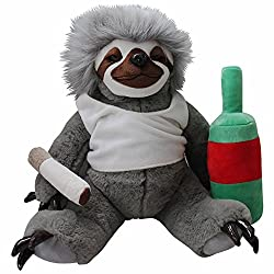 Moochie The Slacker Cuddly Sloth Plushie