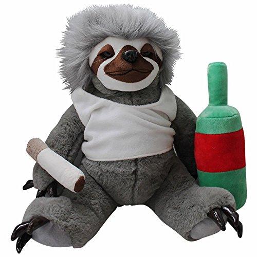 Moochie The Slacker Sloth - 32cm Lazy Sloth Plush - Stuffed Animals...