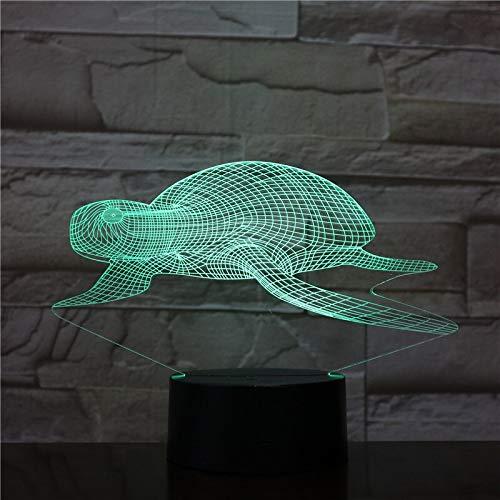 Jiushixw 3D acryl nachtlampje met afstandsbediening van kleur veranderende tafellamp Flower Bend Goud resultaten strategie hoeken kuiken bloemenkant Tiffany's Dolphin tafellamp