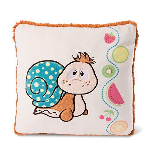 NICI-Collezione Classic Bear: Cuscino Quadrato con Lumaca 25cmx25cm, Colore, 46522