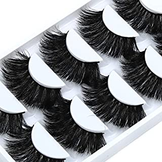 39cc857ff1a 5 Pairs False Crisscross Messy Thick Exaggerated Long Fake Eyelashes Stage  Romance Makeup Mink Eye Lashes