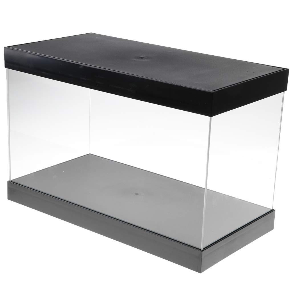 tubayia acrílico transparente vitrina Modelo escaparate Ausstellung Box – Caja para figuras/Estatua/Colección, E 38.5 x 20 x 24.5 cm: Amazon.es: Hogar