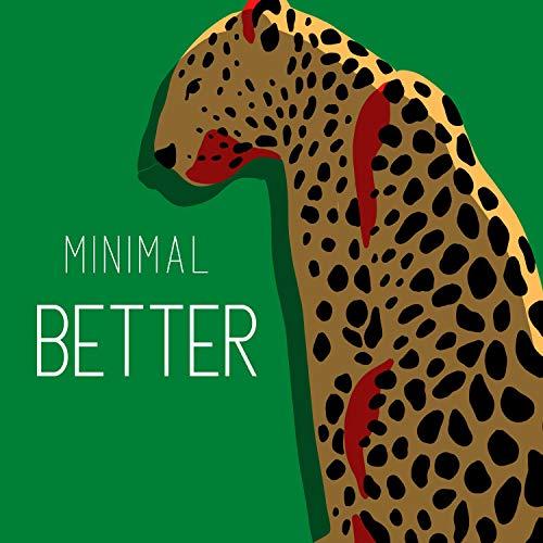 bett minimalistisch metall