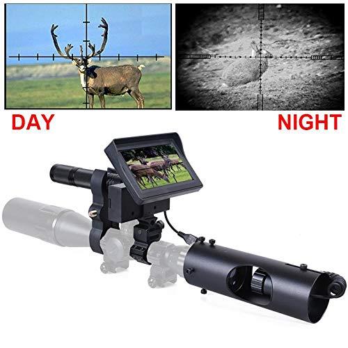 Jagd Nachtsicht für Zielfernrohrkamera 850NM Infrarot LED IR 200 Meter Clear Vision Scope Gerät