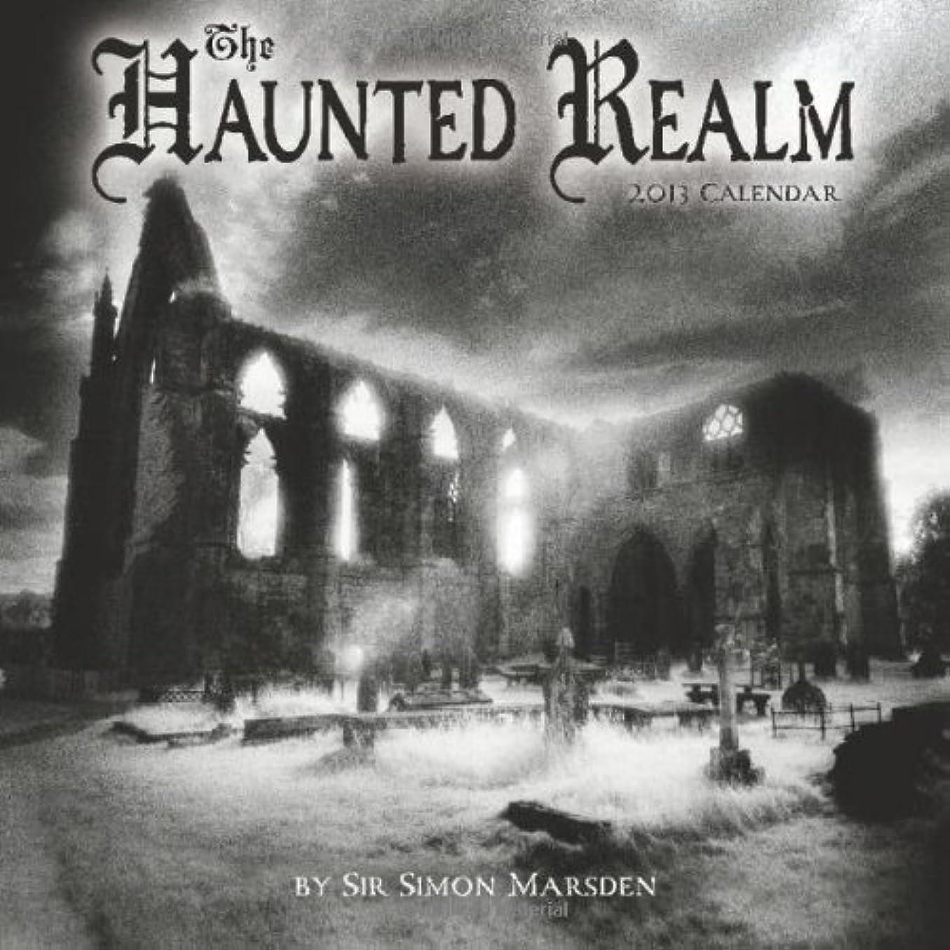 宣伝賞賛する地平線The Haunted Realm 2013 Calendar