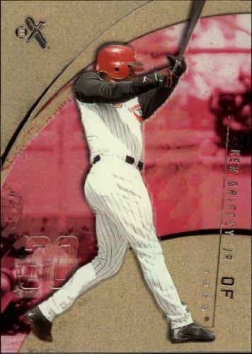 2002 E-X Baseball Card #3 Ken Griffey Jr.