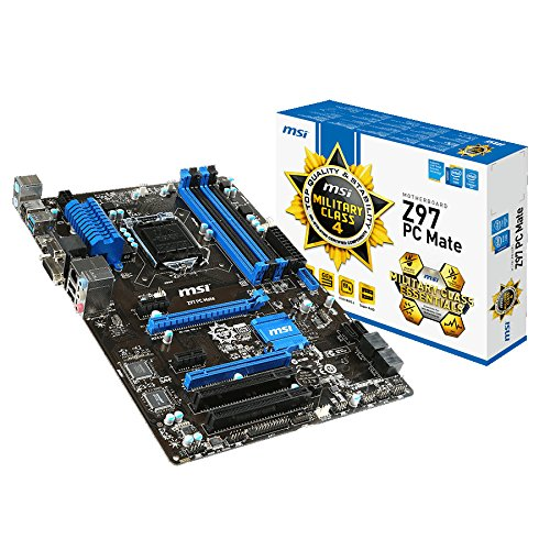 MSI Z97 PC Mate Intel Z97 Mainboard