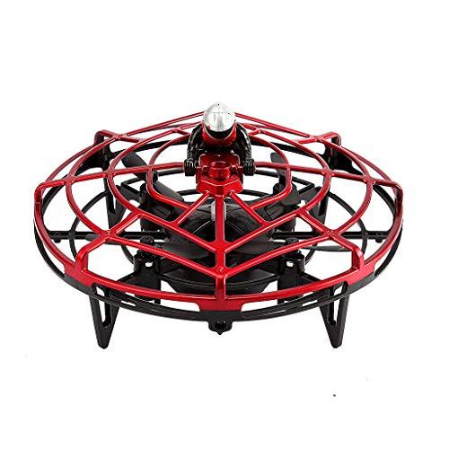 Mini Drohne für 25 Minuten Flugzeit RC Drone Quadrocopter Mini Helikopter Flugzeuge Drehflügler Ebene mit Höhehalten Kopflos Modus 3D Flips Spielzeugdrohne für Kinder (Rot)