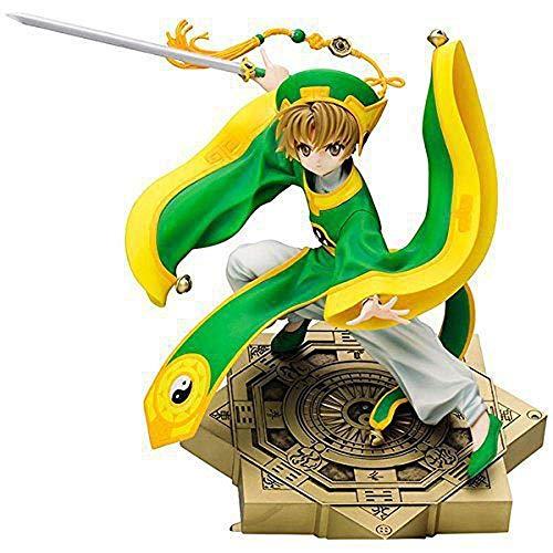 SXXYTCWL Action-Figur-Card Captor Sakura Landschaft Modell LI syaoran Gutaussehend Schöne Mann Dekoration Statue Zeichentrickfigur Modell jianyou