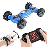Pryme One Remote Control Stunt Gesture car Remote Control and Gesture Sensing, 360 Degree Off Road...