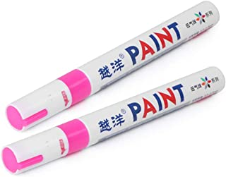 GZYF Bandenverf Marker, Waterdichte Permanente Band Pen - Highlghters Fluorescentie Kleur Universeel Past voor Auto Type D...