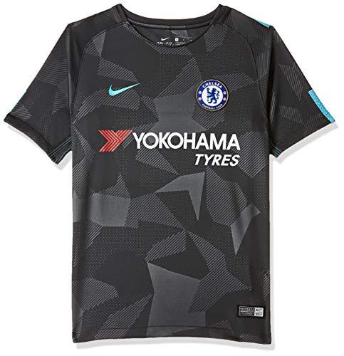 Nike 2017-2018 Chelsea Third Football Soccer T-Shirt Trikot (Kids)
