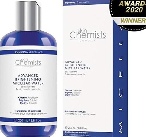 Skin Chemists London Advanced Brighening Agua micelar 250ml