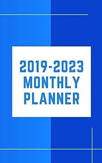 2019-2023 Monthly Planner: Five Year Planner Monthly Schedule Organizer 60 Months Calendar Agenda To Do List 5x8 Inch Notebook (Volume 7)