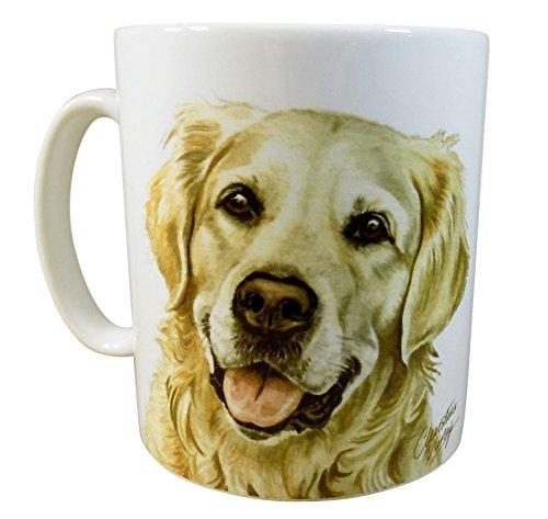 Waggy Dogz Golden Retriever Dog Puppy fabriquée au Royaume-Uni Cadeau de qualité de Chine Mug Tasse Pot de fleurs