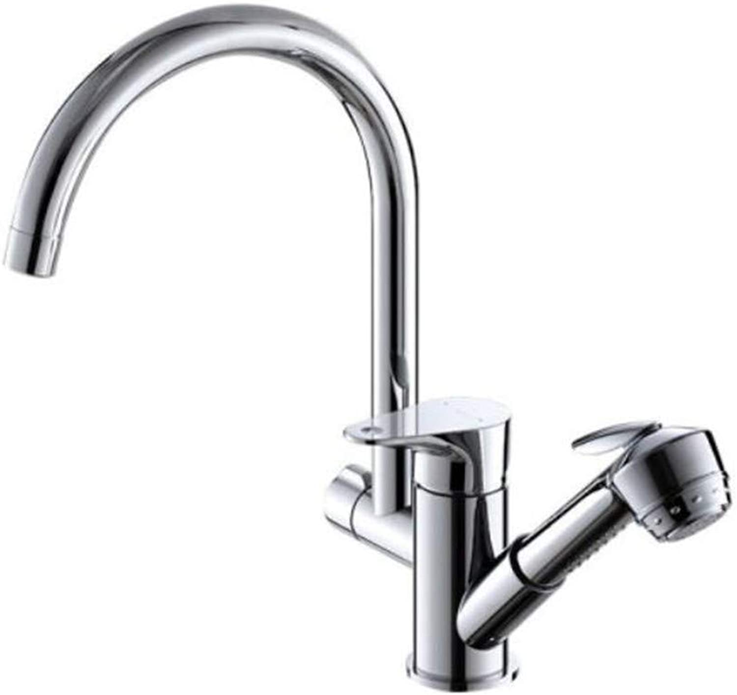 Faucet Waste Mono Spoutmultifunctional Cooling and Hot Pumping Tank Copper Washing Pot in Bathroom Kitchen