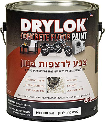 Sundeck Paint | DRYLOK Latex Concrete Floor Paint |Protect and Decorate Masonry Floors in Homes and Industry, Both Indoors and Outdoors - 1 US Gallon