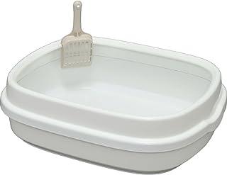アイリスオーヤマ ネコのトイレ ホワイト 1個 (x 1)