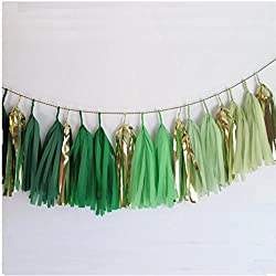 Green Party Decorations