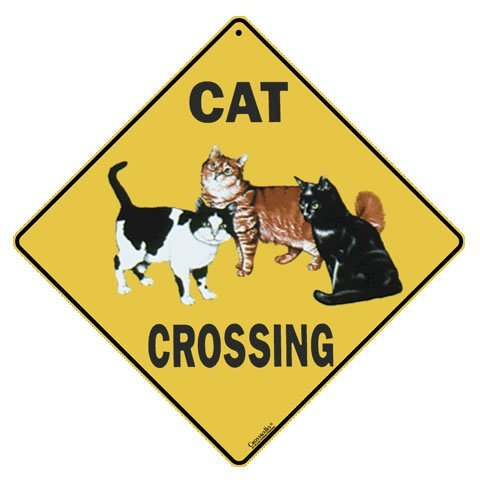 Atlas Screen Printing Cat Crossing 12