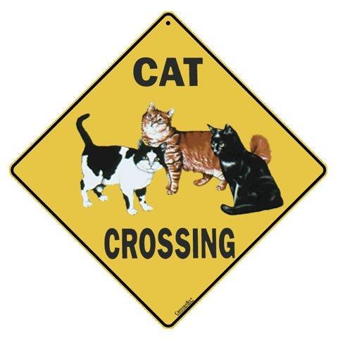 Atlas Screen Printing Cat Crossing 12