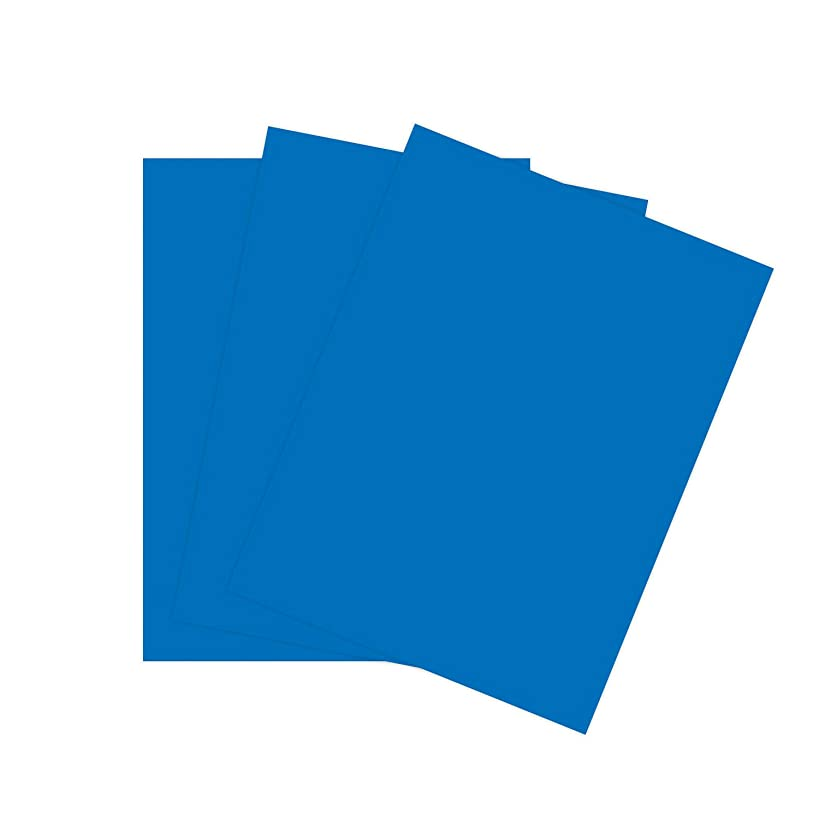 Cardstock Paper for Arts Crafts and Scrapbooking by The Stamps of Life - Blueberry Blue 8.5