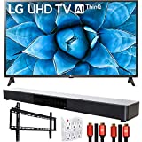 LG 65UN7300PUF 65' 4K UHD TV with AI ThinQ (2020) with Deco Gear Soundbar Bundle