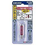 日本アンテナ アッテネーター(減衰器) -10dB用 2.6GHz対応 入出力F型端子 電流通過型 FAT-10PS-SP