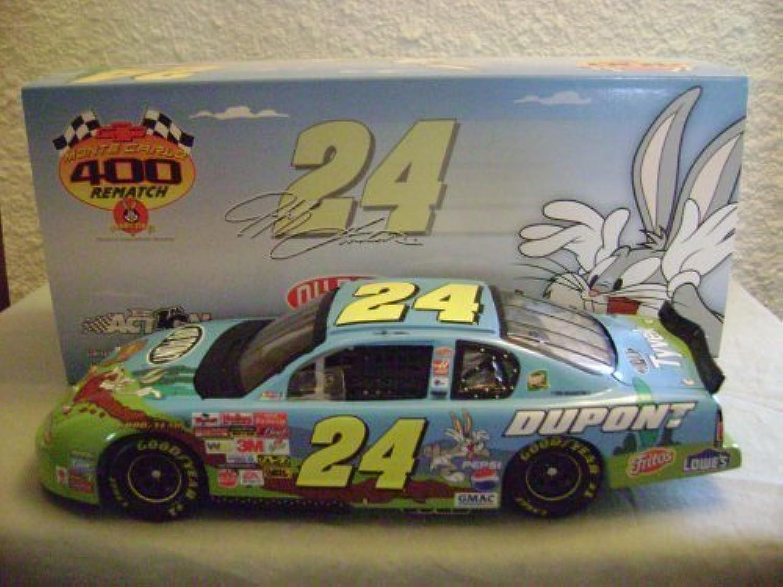 Esperando por ti Acción Jeff Gordon  24 DuPont DuPont DuPont Looney Tunes Rematch 1 24 by Unknown  gran descuento