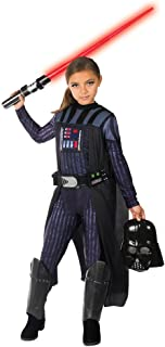 Rubie's Girls Star Wars Classic Darth Vader Costume Large As Shown