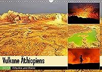 Vulkane Aethiopiens - Erta Ale und Dallol (Wandkalender 2022 DIN A3 quer): Vulkane im Rausch der Farben (Monatskalender, 14 Seiten )
